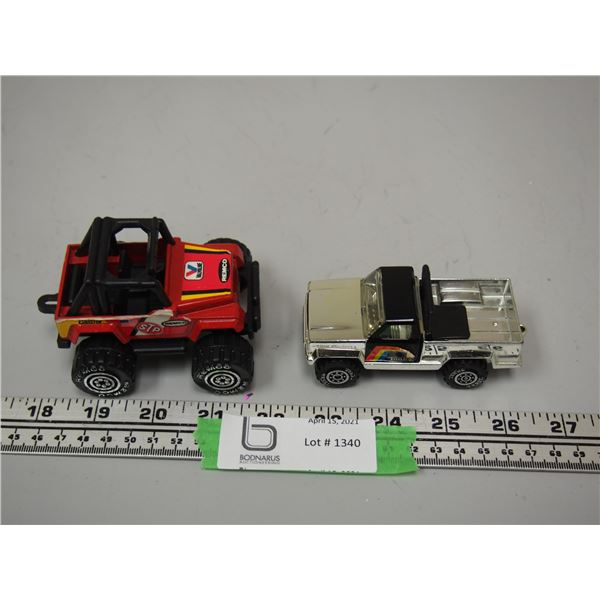 1987 Remco Jeep Toy Plus Tonka Toy Truck