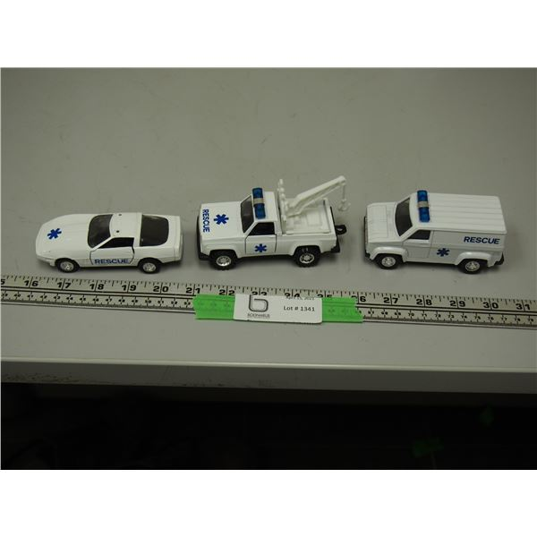 (3X THE MONEY) Toy Rescue Vehicles Made in China