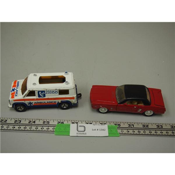 Majorette Ambulance, Sunnyside Toy Mustang
