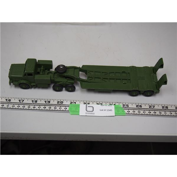 "Dinky Toy Army Tank Transporter (11 1/2"" long)"