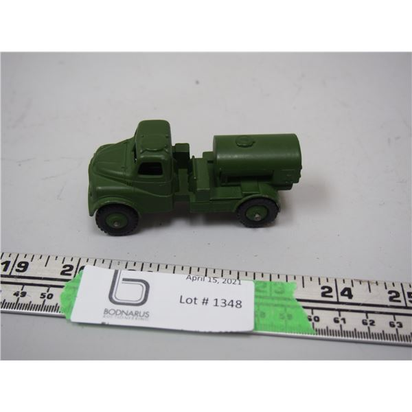 """Dinky Toy Army Water Tanker (3 1/4"""" long)"""