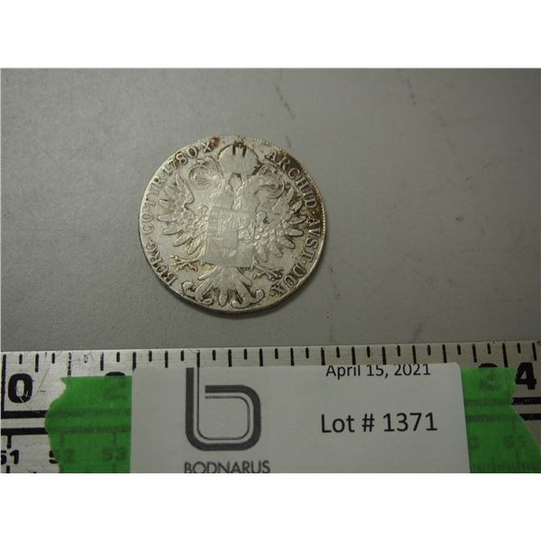 1780 M. Theresia. D.G. Coin