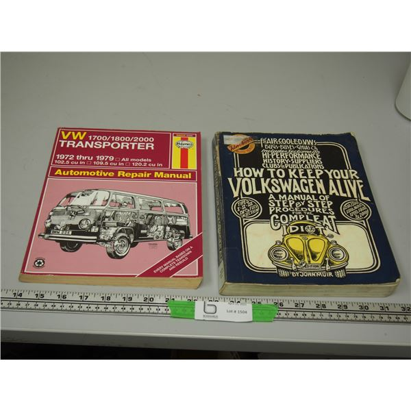 (2X THE MONEY) VW Repair Manuals