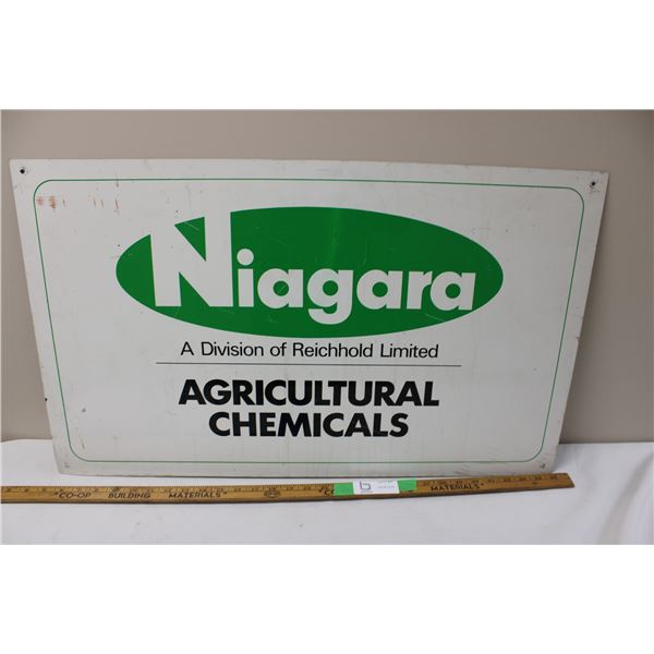 Niagara Tin (Aluminum?) Sign