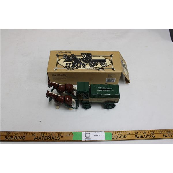 Ertl Collectible Horse and Wagon in the Wagon