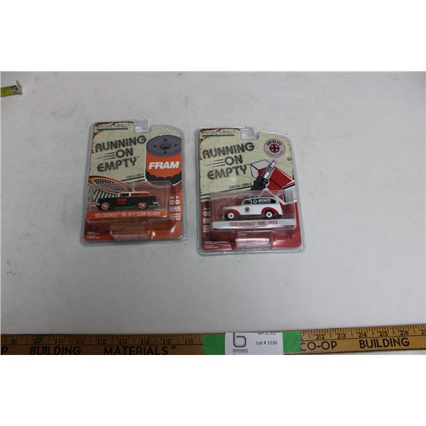(2X THE MONEY) Fram and Autolite 1/64 Cars