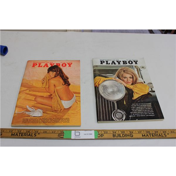 (2X THE MONEY) 1969 Playboys (July and May)
