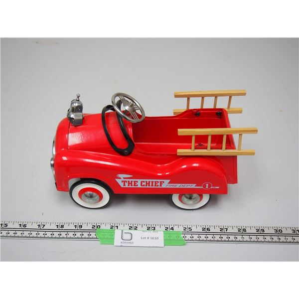 "The Chief Fire Dept Toy (10"" long)"