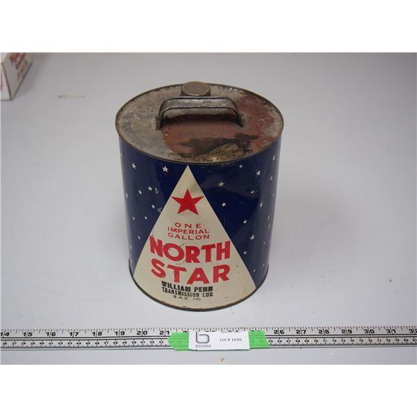 North Star William Pen One Imperial Gallon SAE 140 Oil Can