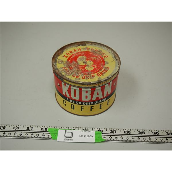 Koban Coffee Can