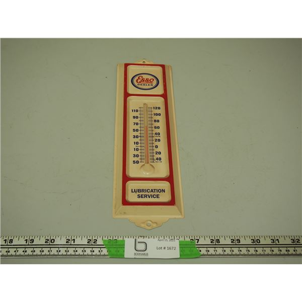 "Esso Dealer Thermometer (13"" long)"