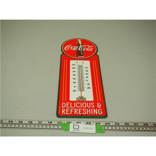 """Coca Cola Thermometer (5.5"""" x 15.5"""")"""