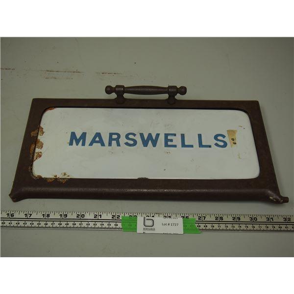 Marswells Stove Door