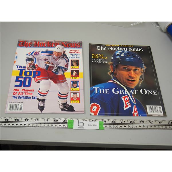 The Hockey News Oct Nov 1989 and The Hockey News Wayne Gretzky A Legend In Our Time