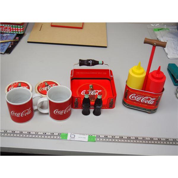 Lot of Coca Cola Collectibles