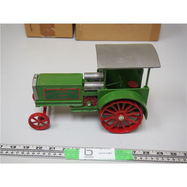 """Heider Rock Island Limited Edition Tractor with Canopy 773/1500 9.5"""" long Very Heavy"""