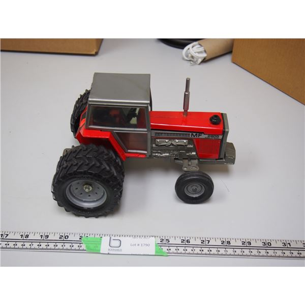 """MF 2805 Tractor with Cab 1/16 Scale? (9.5"""" long) with Duals"""