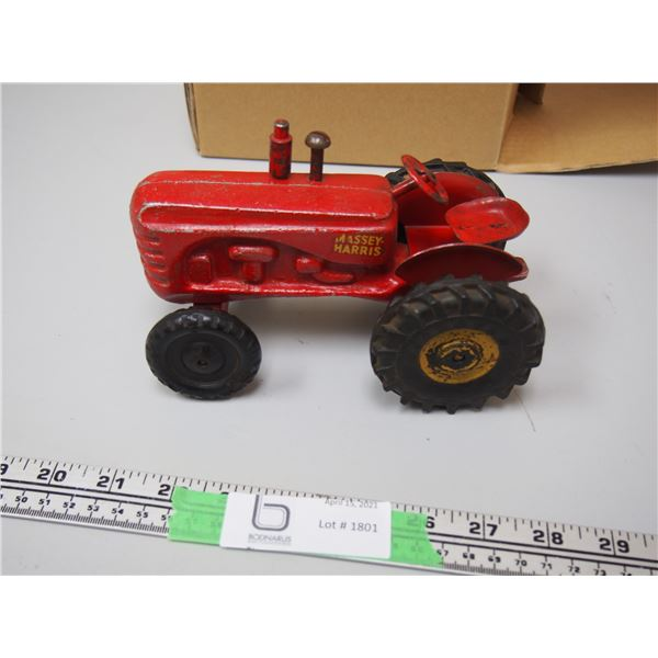 """Old Massey Harris (Lincoln?) Tractor 7"""" Long"""