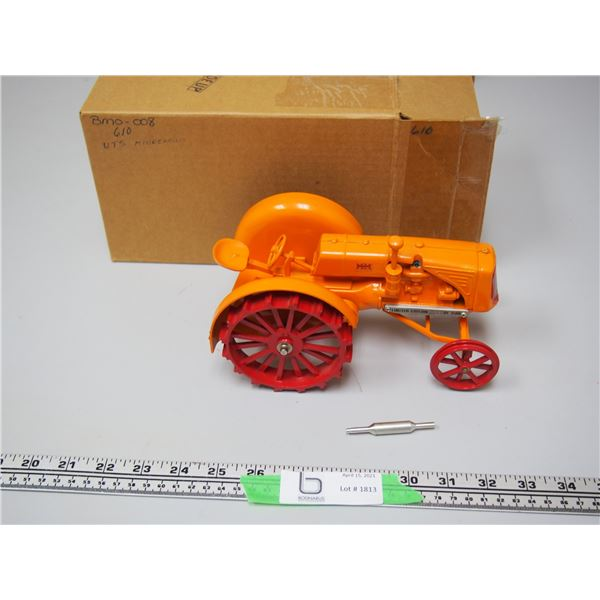 """MM U or G Limited Edition Tractor 1/16 Scale 773/1500 (NIB) with Muffler (8 1/4"""" long)"""