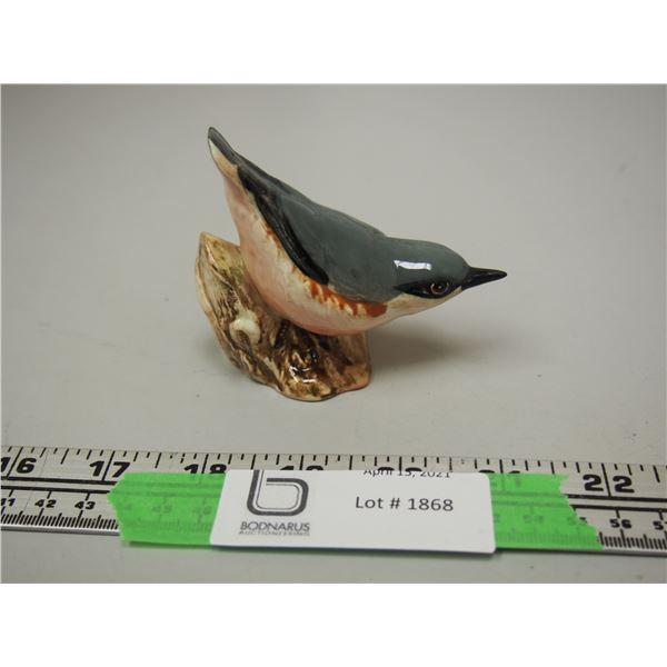Beswick Nuthatch Bird Ornament