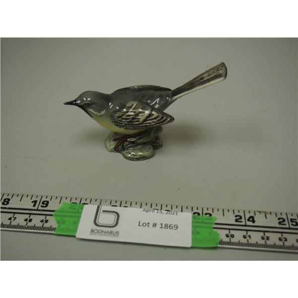 Beswick Grey Wagtail Bird Ornament