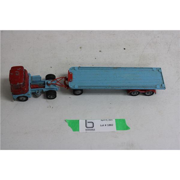 Corgi Major Toys Flat Bed Hauler Truck