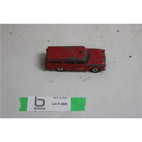 Fire Chief Nash Rambler Dinky Toys