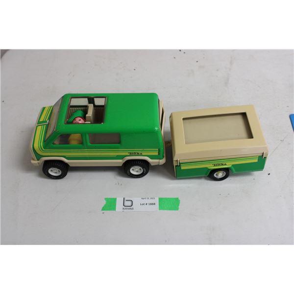 Tonka Van and Trailer