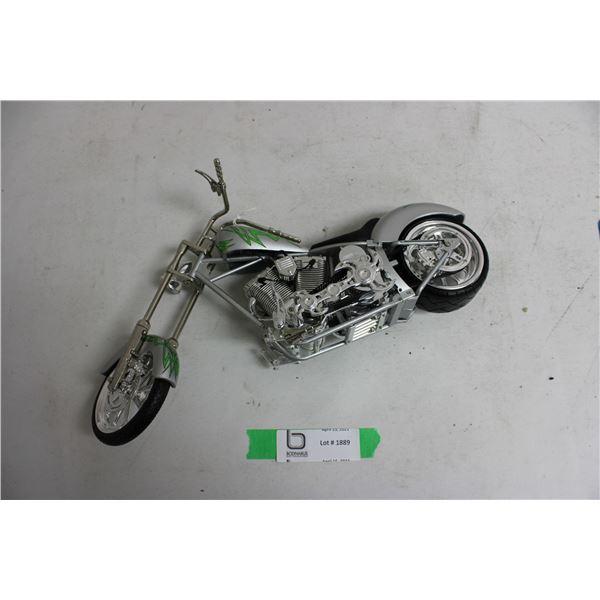 Motorcycle Diecast Plastic Bag