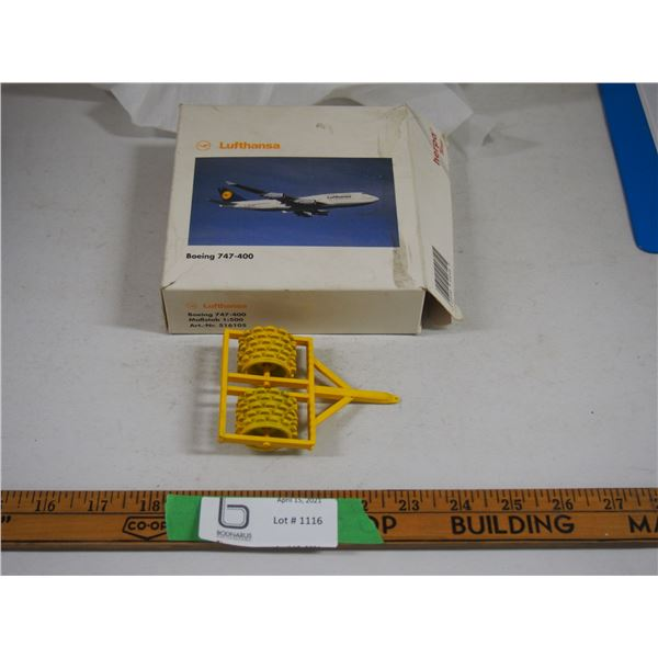 "Metal Packer Toy 4"" Long in Toy Airplane Box"