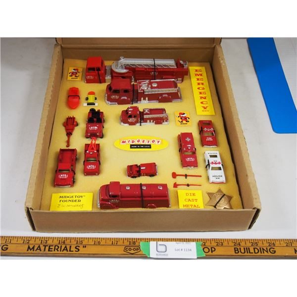 Midgetoy Collectible Series Fire Brigade Since 1946