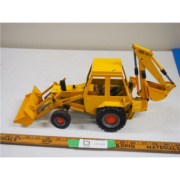 "Case Construction King 580B with Loader and Backhoe (16"" long) Made in W. Germany by Gesha"