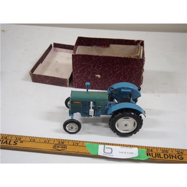 "Eicher Tractor 1960's? Diecast Tractor (5 3/4"" long)"