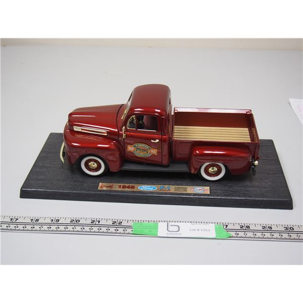 """Road Legends 1948 F-1 Pickup Limited Edition (Truck 10"""" long) on Stand"""