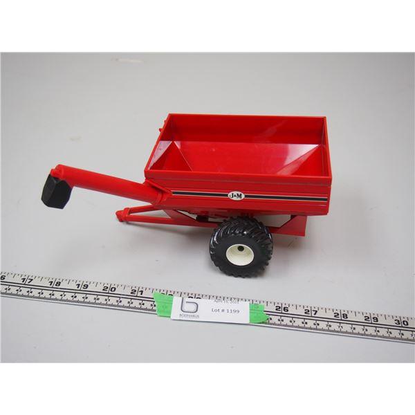 """Ertl Jam Grain Cart Plastic and Metal (8"""" Long)"""