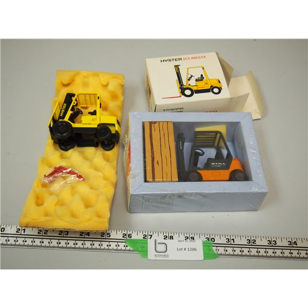 (2X THE MONEY) Still and Hyster Fork Lifts (NIB)