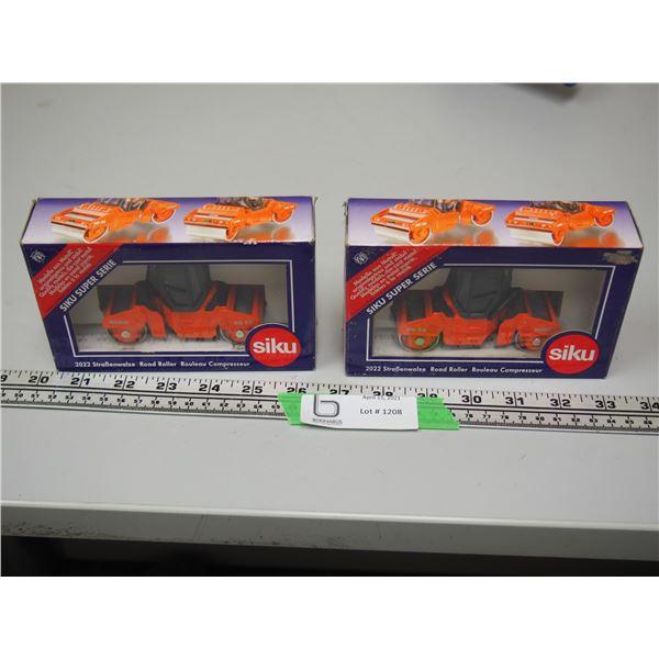 (2X THE MONEY) Siku Hamm HD90 Road Rollers (NIB)