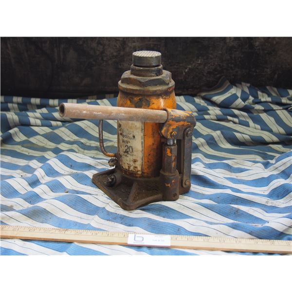 20 Ton Hydraulic Bottle Jack Strongarm (Working)