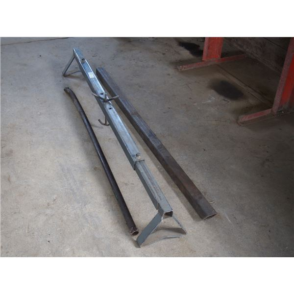 Extendable Stand Square Pipe, Square Tubing and Pry Bar