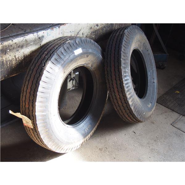 2X THE MONEY - NOS Bridgestone 7.50x6 Tires 8ply