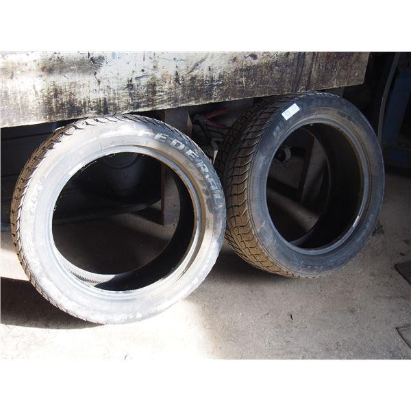 2X THE MONEY - Federal Himalaya 225 50 R 17 Tires NOS