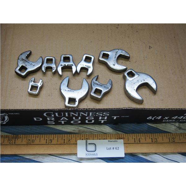 Standard Crowfoot Wrenches