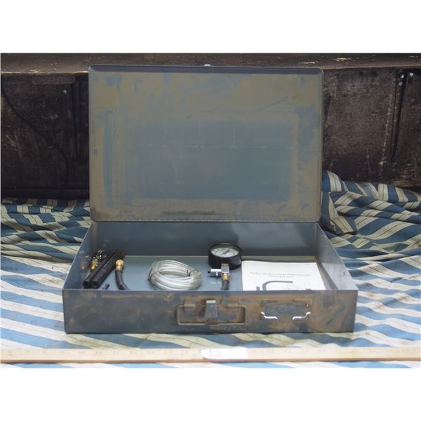 Fuel Injector Pressure Test Kit in Metal Case