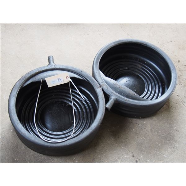 Oil Drain Containers