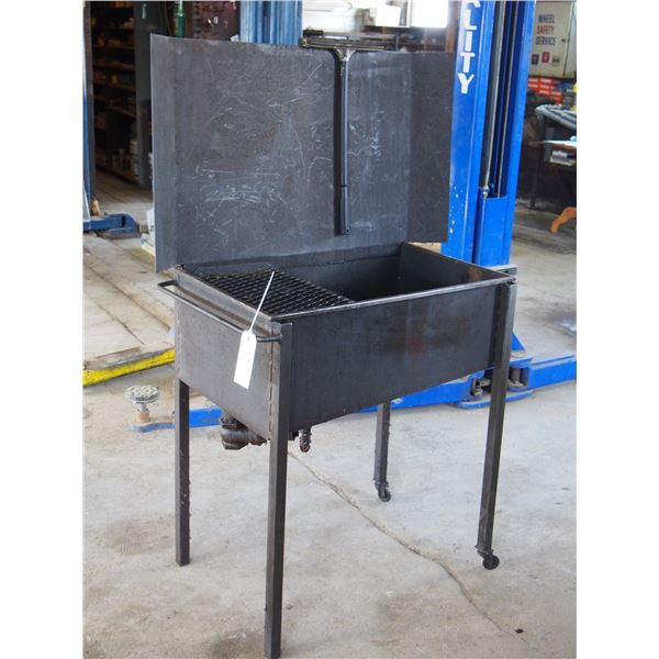 Parts Washer on Casters