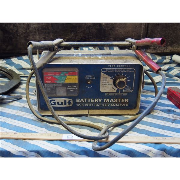 Gulf Battery Master 12/6 Volt Battery Charger