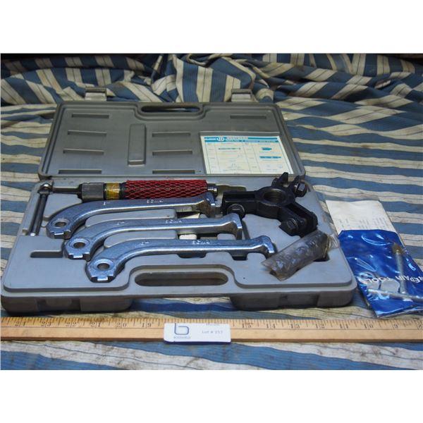 """Westward 6"""" Hydraulic Gear Puller Set in Case"""