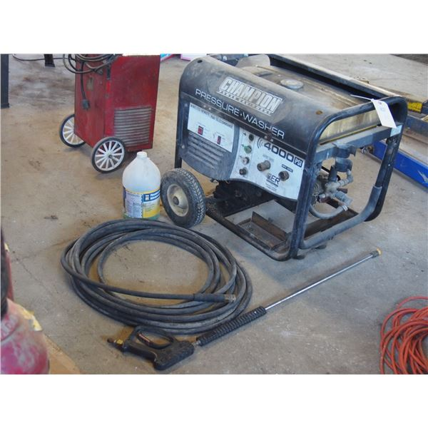 Champion Pressure Washer with Hose and Wand
