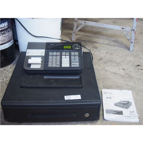 PCR T290 Electronic Cash Register with Key (Working) and Manual