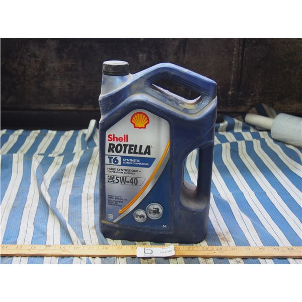 Shell Rotella Synthetic T6 SAE 5W40 5L Jug SEALED